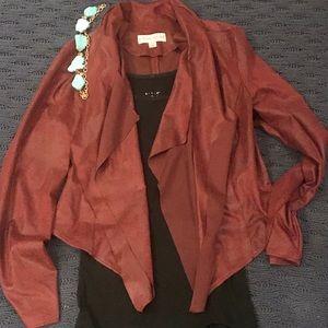 Tops - Moto - like jacket burgundy
